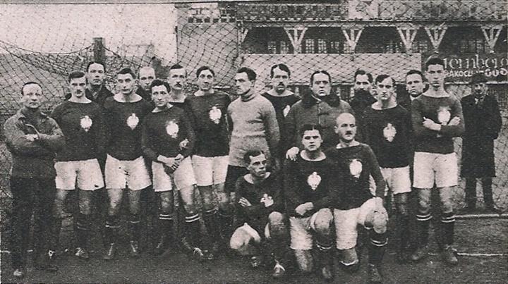 Reprezentacja Polski Budapeszt XII 1921